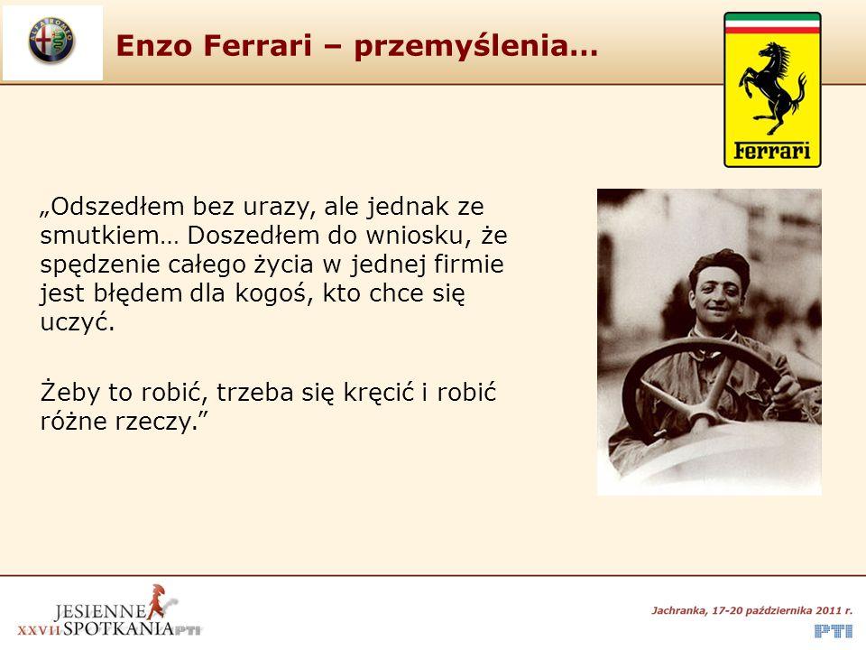 Enzo Ferrari – przemyślenia…