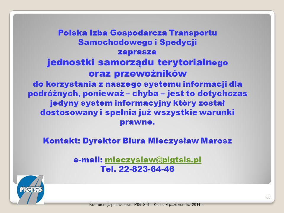 jednostki samorządu terytorialnego oraz przewoźników