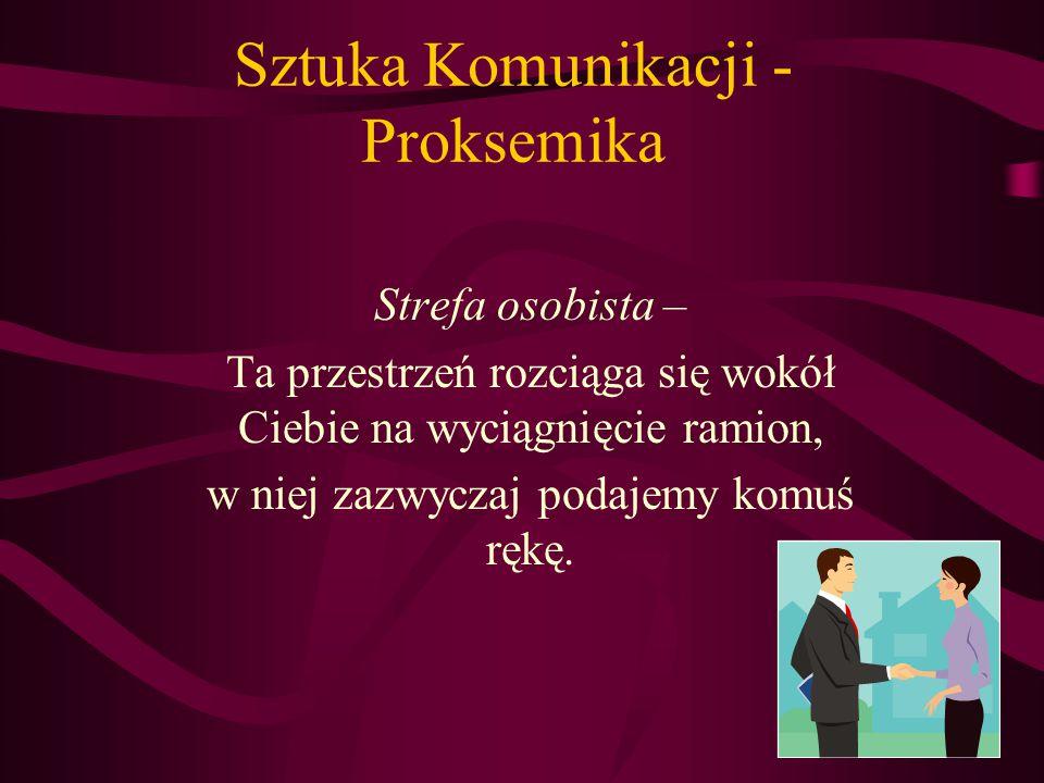 Sztuka Komunikacji - Proksemika