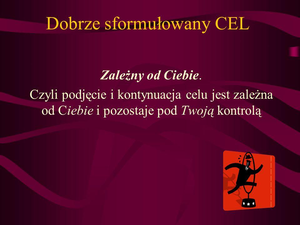 Dobrze sformułowany CEL