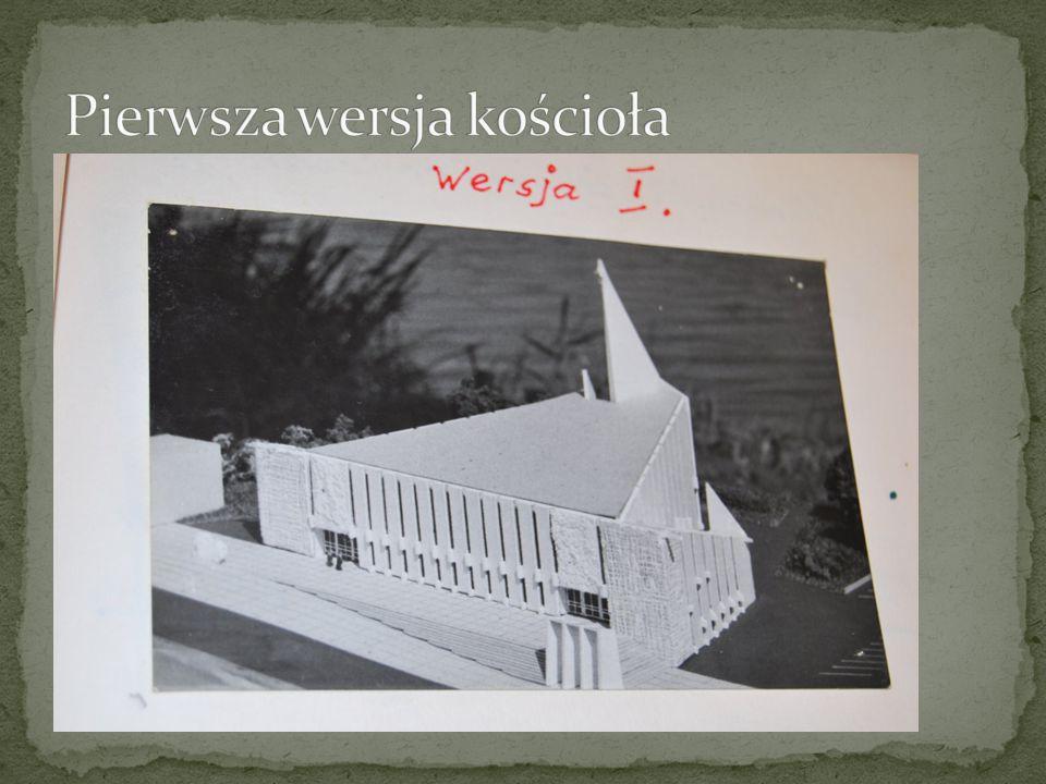 Pierwsza wersja kościoła