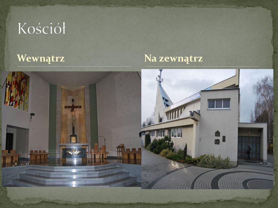 Kościół Wewnątrz Na zewnątrz