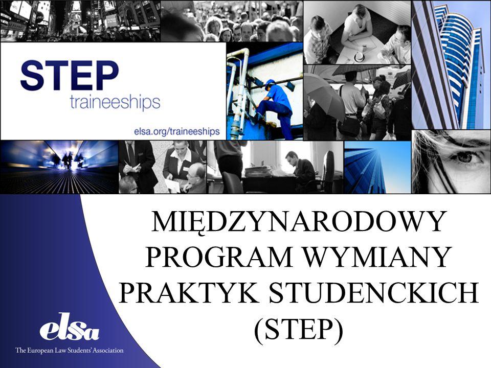 MIĘDZYNARODOWY PROGRAM WYMIANY PRAKTYK STUDENCKICH (STEP)