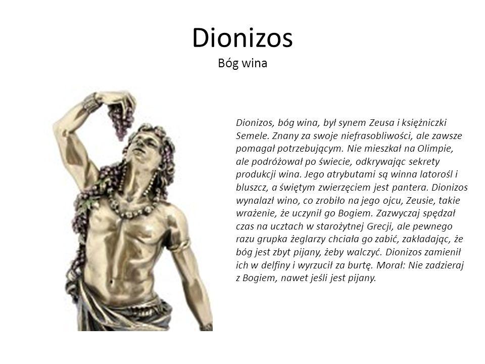 Dionizos Bóg wina