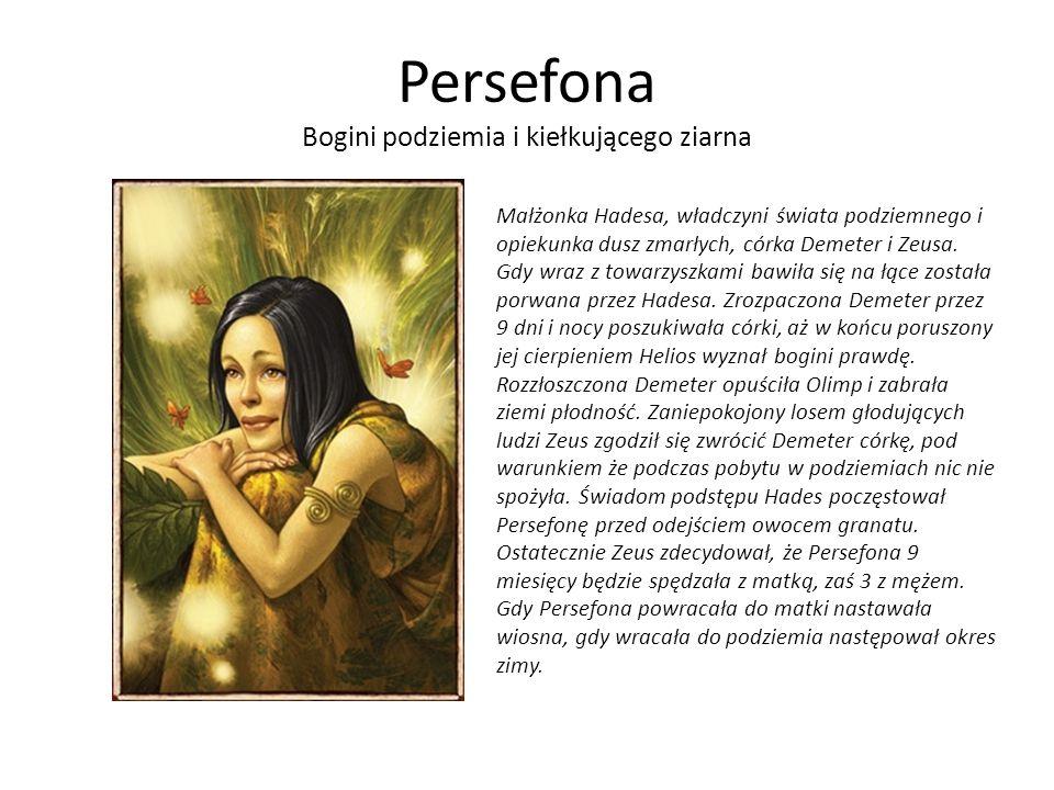 Persefona Bogini podziemia i kiełkującego ziarna