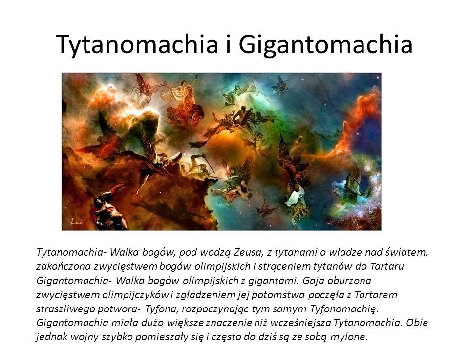 Tytanomachia i Gigantomachia