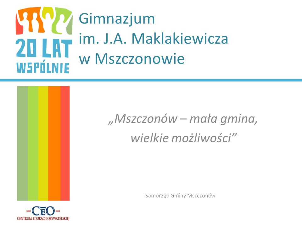 Gimnazjum im. J.A. Maklakiewicza w Mszczonowie
