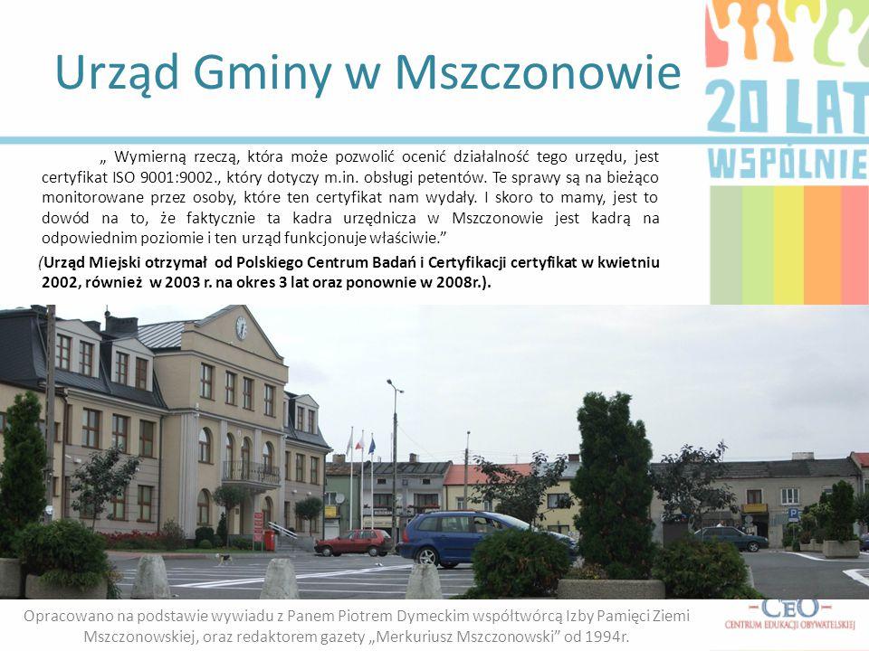 Urząd Gminy w Mszczonowie