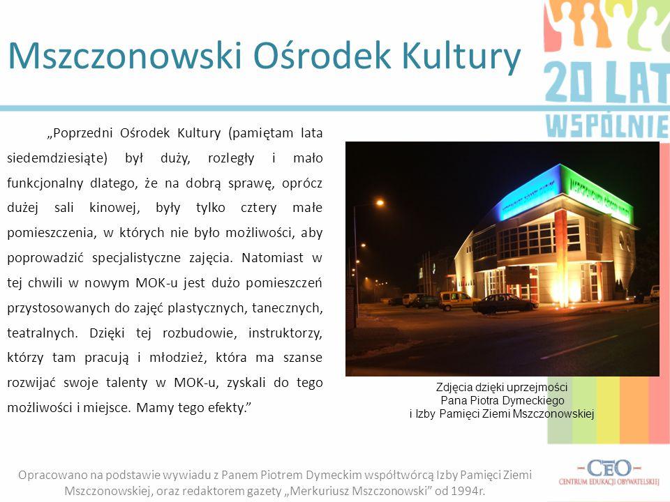 Mszczonowski Ośrodek Kultury