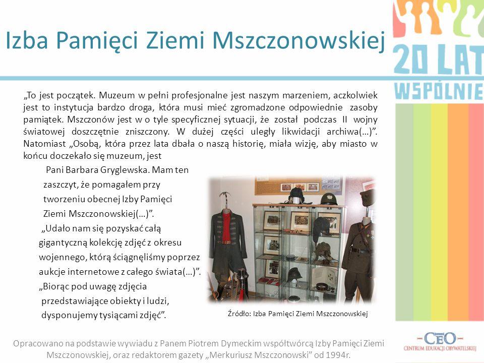 Izba Pamięci Ziemi Mszczonowskiej