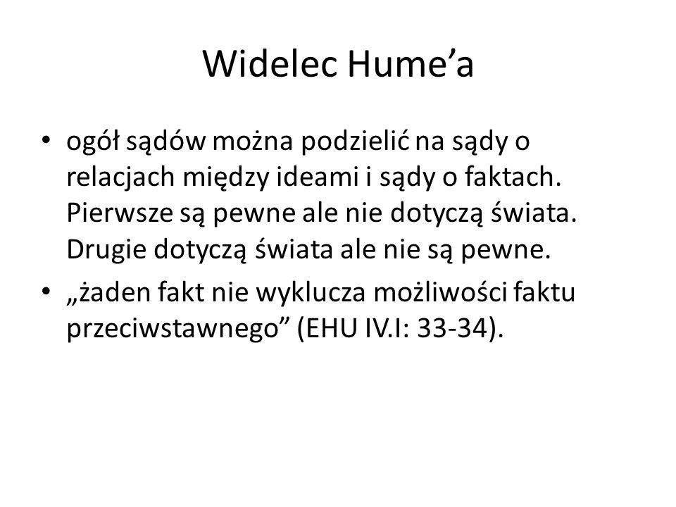 Widelec Hume'a