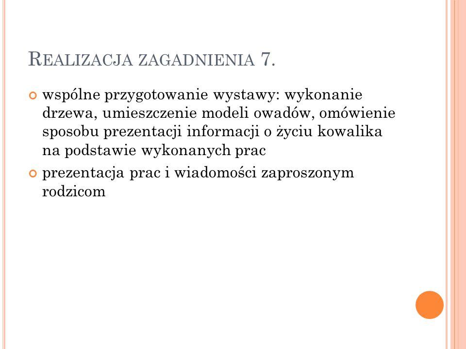 Realizacja zagadnienia 7.