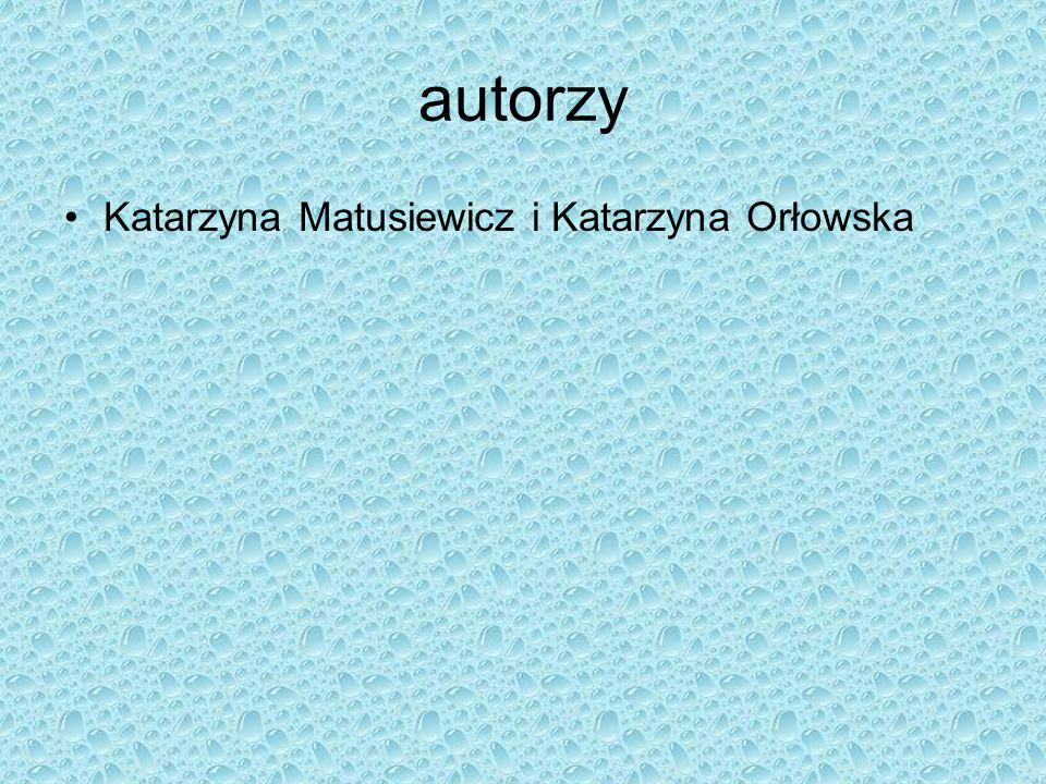 autorzy Katarzyna Matusiewicz i Katarzyna Orłowska