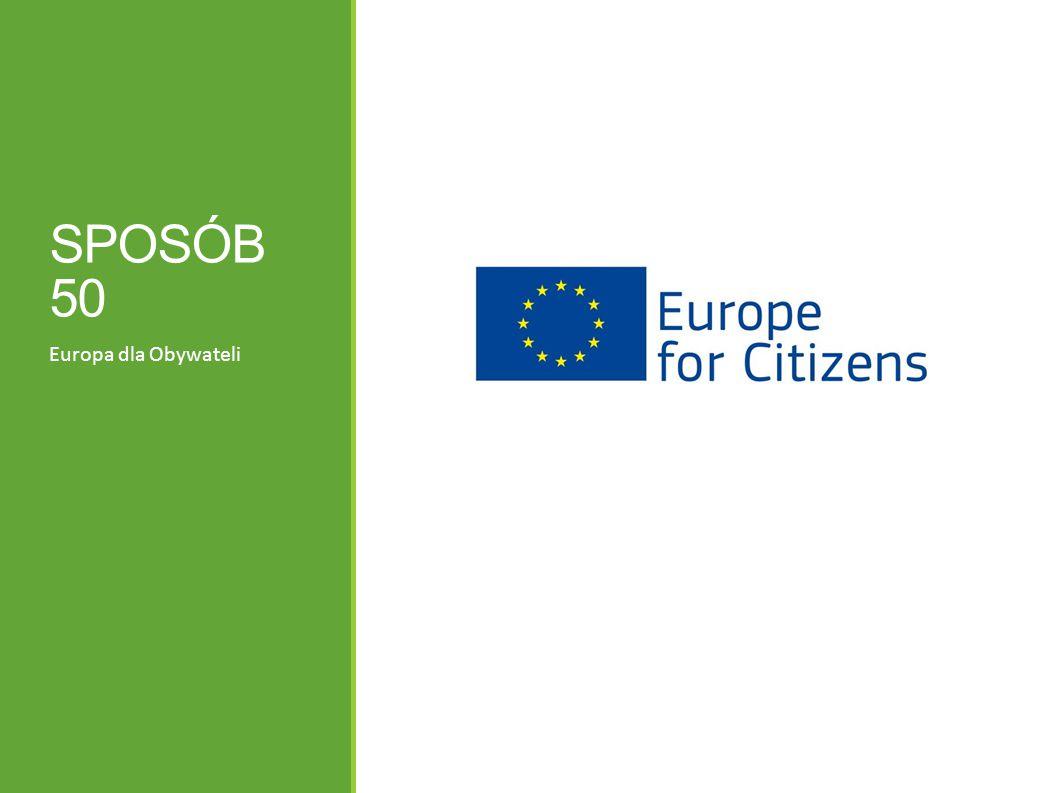 SPOSÓB 50 Europa dla Obywateli