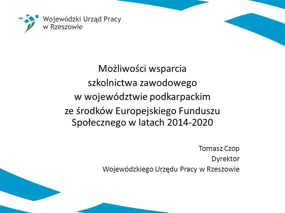 szkolnictwa zawodowego w województwie podkarpackim
