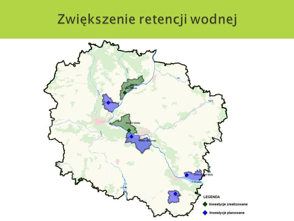 Zwiększenie retencji wodnej