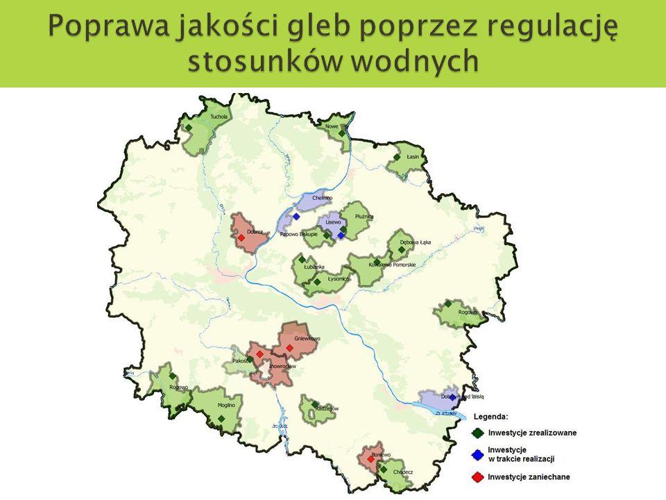 Poprawa jakości gleb poprzez regulację stosunków wodnych