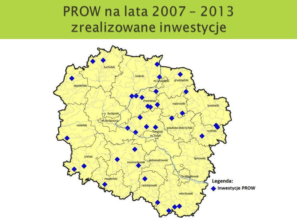 PROW na lata 2007 – 2013 zrealizowane inwestycje