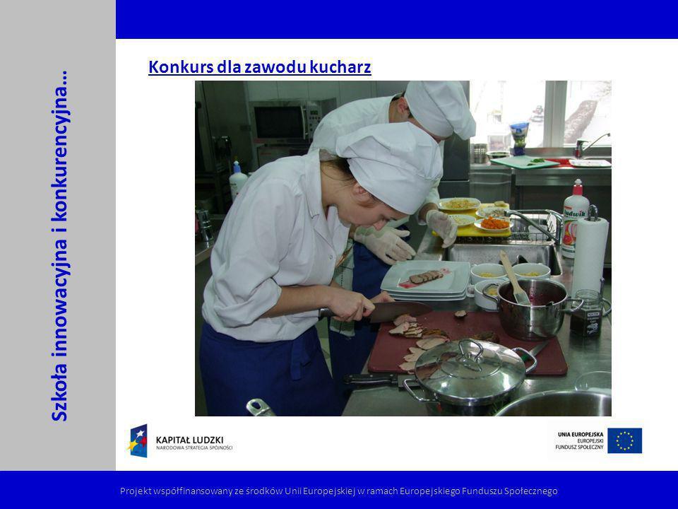 Konkurs dla zawodu kucharz
