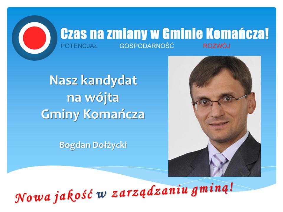 Nasz kandydat na wójta Gminy Komańcza Bogdan Dołżycki