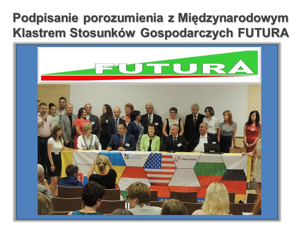 Podpisanie porozumienia z Międzynarodowym Klastrem Stosunków Gospodarczych FUTURA
