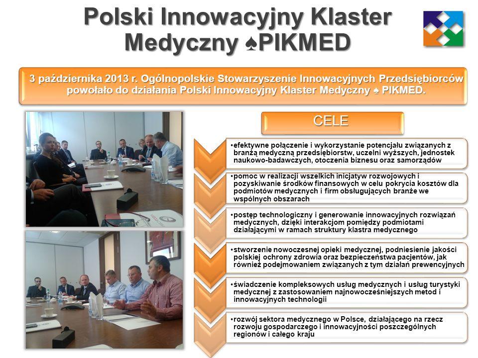 Polski Innowacyjny Klaster Medyczny ♠PIKMED