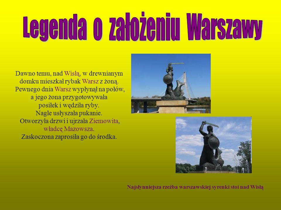 Legenda o założeniu Warszawy