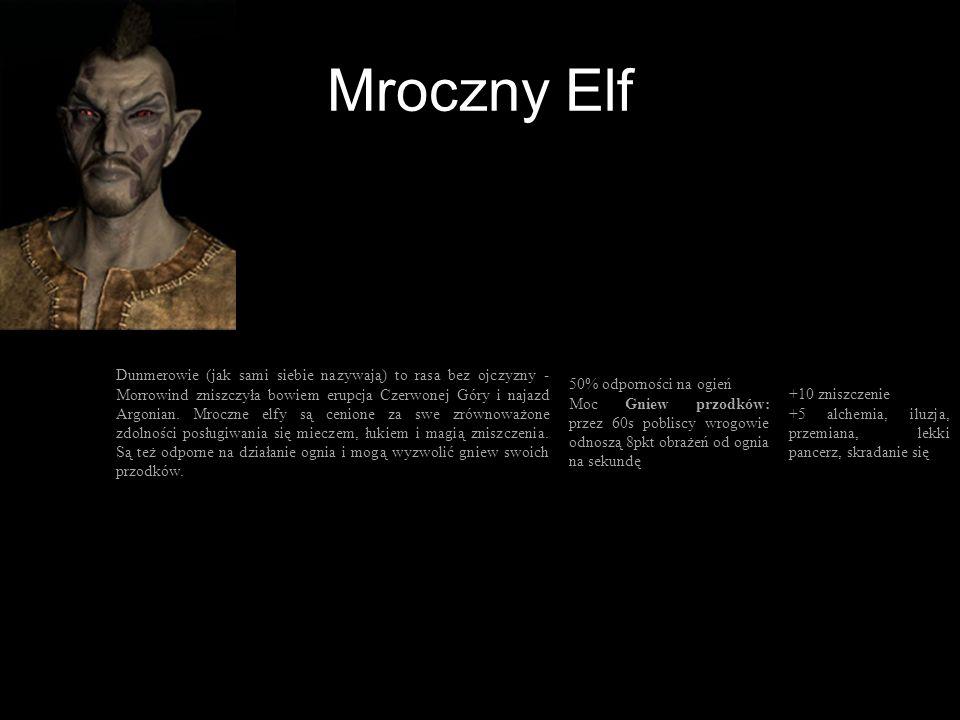 Mroczny Elf
