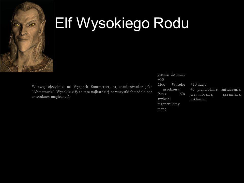 Elf Wysokiego Rodu
