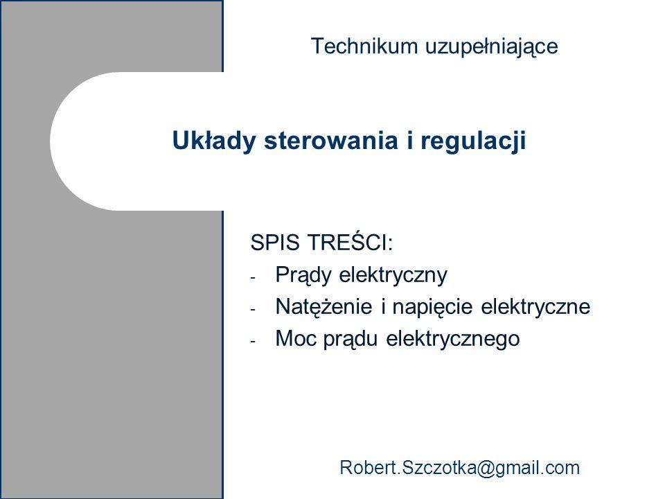 Układy sterowania i regulacji