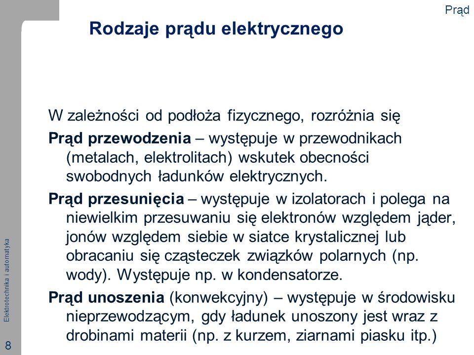 Rodzaje prądu elektrycznego