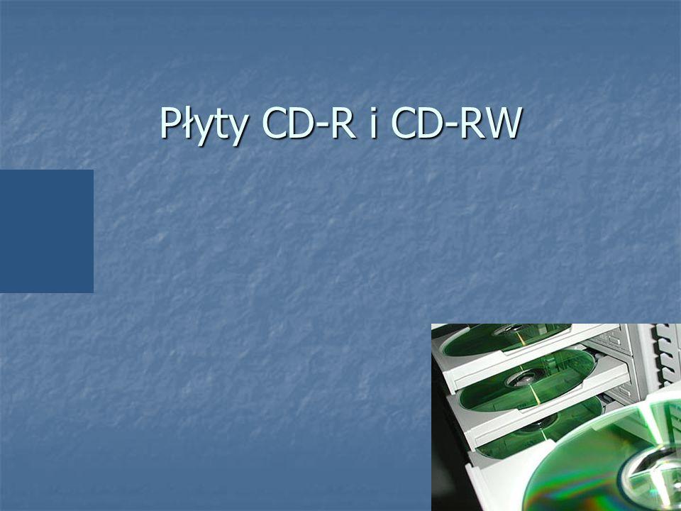 Płyty CD-R i CD-RW Tytułowa – zaczynam coś tworzyć