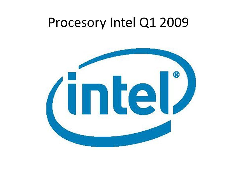 Procesory Intel Q1 2009
