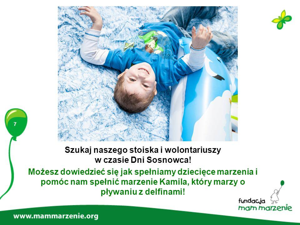 Szukaj naszego stoiska i wolontariuszy w czasie Dni Sosnowca!