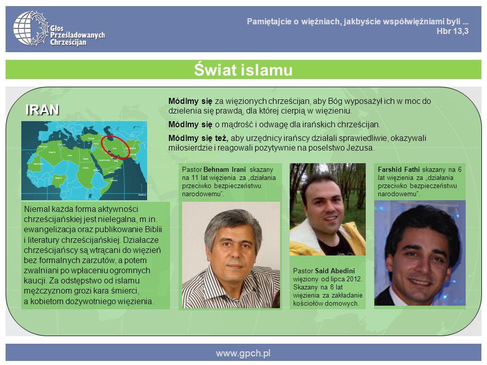 Świat islamu IRAN www.gpch.pl