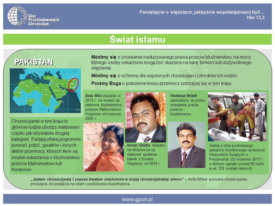 Świat islamu PAKISTAN www.gpch.pl