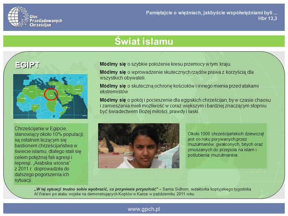 Świat islamu EGIPT www.gpch.pl
