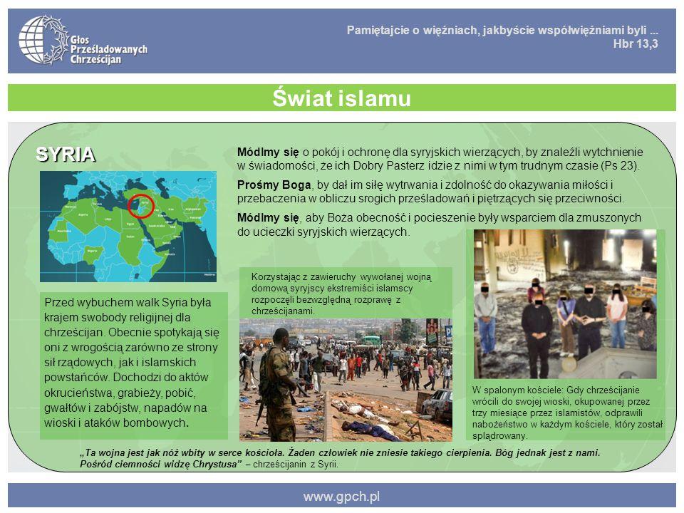 Świat islamu SYRIA www.gpch.pl