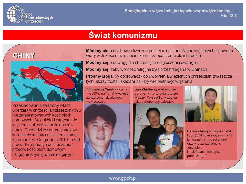 Świat komunizmu CHINY www.gpch.pl