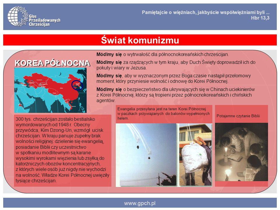 Świat komunizmu KOREA PÓŁNOCNA www.gpch.pl