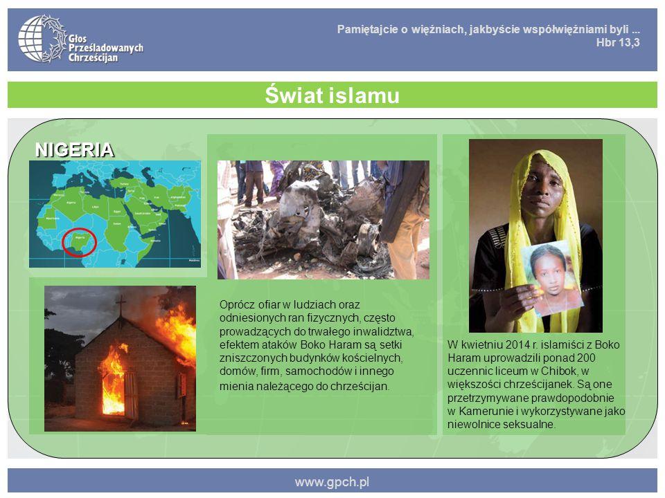 Świat islamu NIGERIA www.gpch.pl