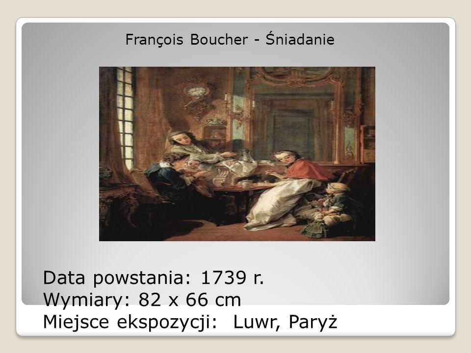 François Boucher - Śniadanie