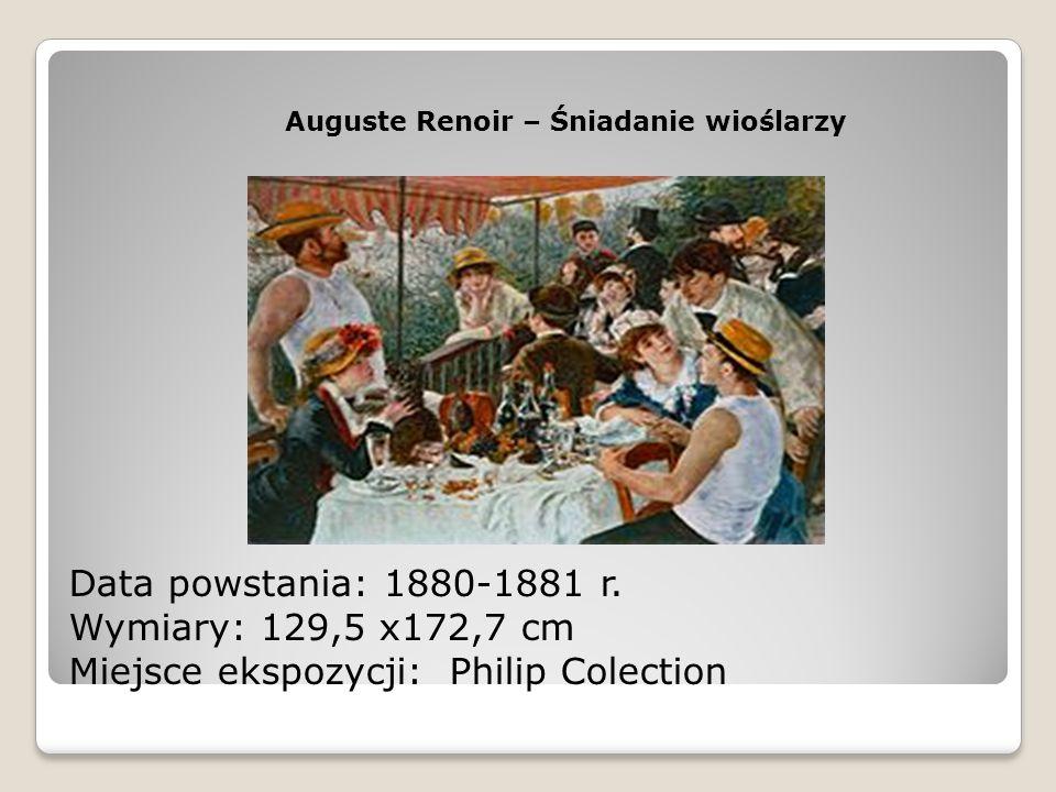 Auguste Renoir – Śniadanie wioślarzy