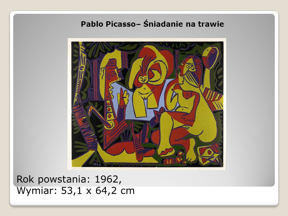 Rok powstania: 1962, Wymiar: 53,1 x 64,2 cm
