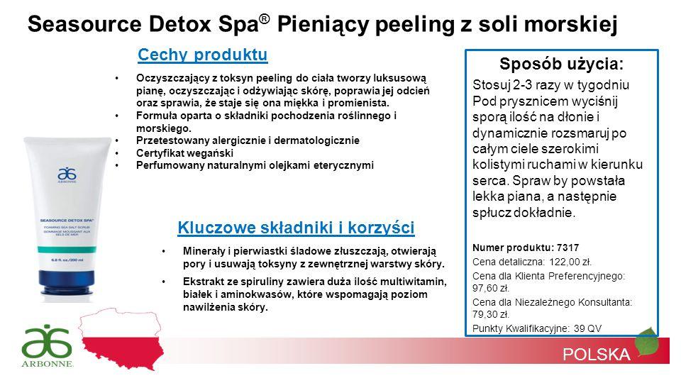 Seasource Detox Spa® Pieniący peeling z soli morskiej