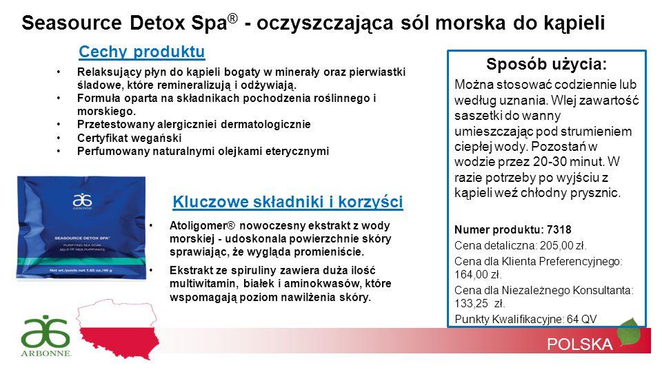 Seasource Detox Spa® - oczyszczająca sól morska do kąpieli