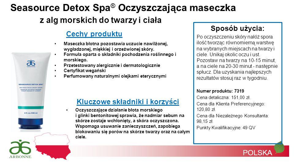 Seasource Detox Spa® Oczyszczająca maseczka
