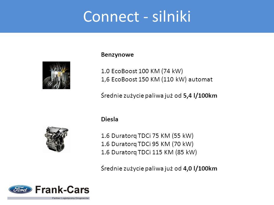 Connect - silniki Benzynowe 1.0 EcoBoost 100 KM (74 kW)