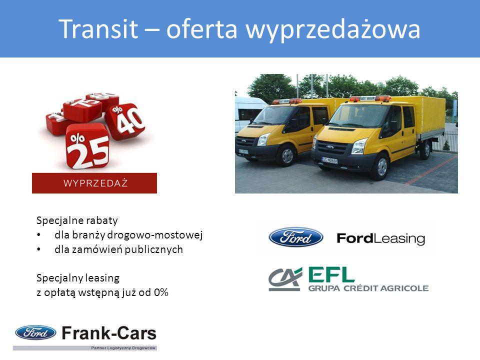 Transit – oferta wyprzedażowa
