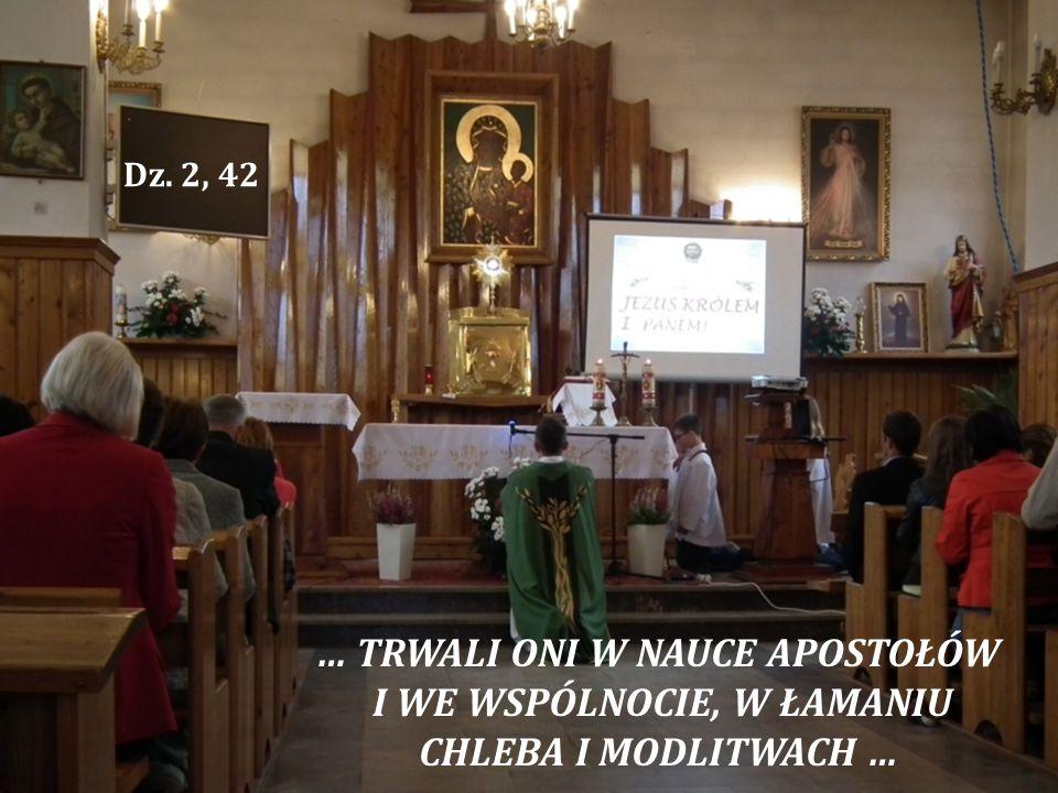 … TRWALI ONI W NAUCE APOSTOŁÓW